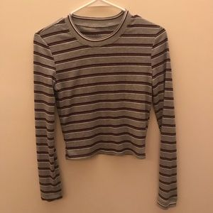 PacSun cropped long sleeve